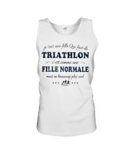 Fille Normale - Trithlon Unisex Tank thumbnail