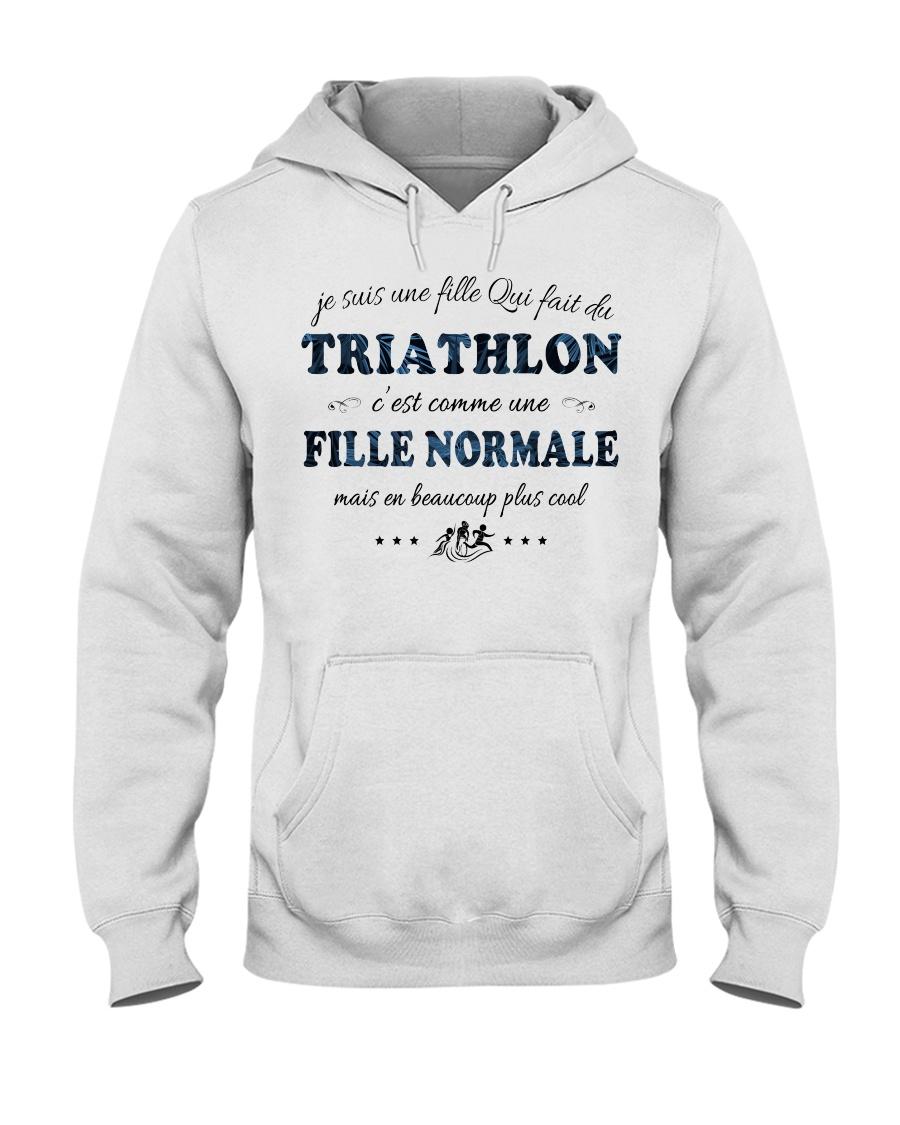 Fille Normale - Trithlon Hooded Sweatshirt