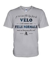 Fille Normale - Velo GR V-Neck T-Shirt thumbnail