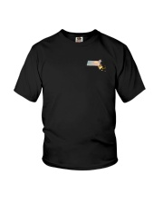 Massachusetts USA Flag Youth T-Shirt thumbnail