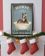 HORSE - wash your hooves 11x17 Poster lifestyle-holiday-poster-4