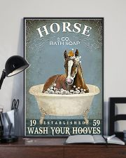 HORSE - wash your hooves 11x17 Poster lifestyle-poster-2