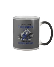 I Don't Need Therapy - Lacrosse Color Changing Mug thumbnail