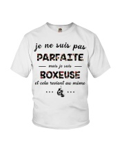 Boxeuse - Je ne Suis Pas Parfaite Youth T-Shirt thumbnail