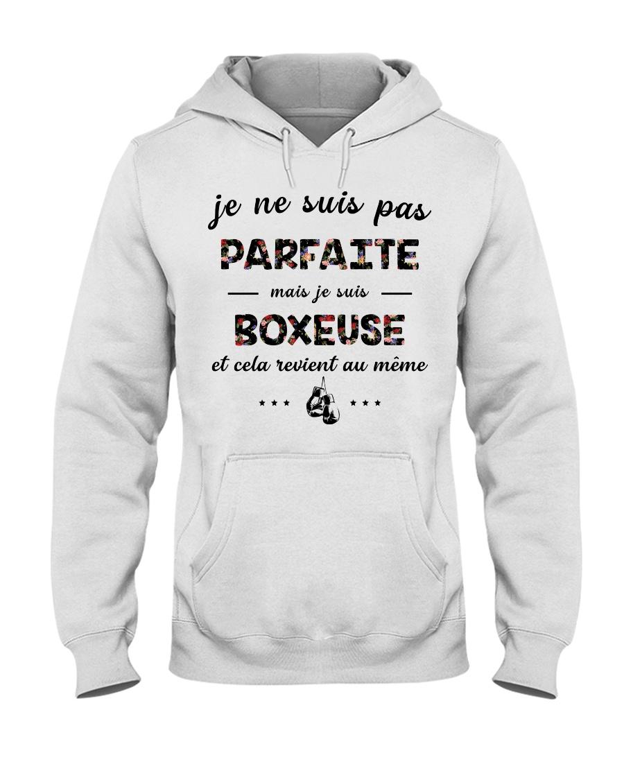 Boxeuse - Je ne Suis Pas Parfaite Hooded Sweatshirt