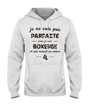 Boxeuse - Je ne Suis Pas Parfaite Hooded Sweatshirt front