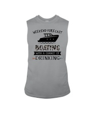 boating-weekend forecast-drinking 0001 Sleeveless Tee thumbnail