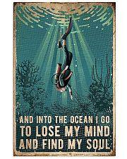 Scuba Diving - Into The Ocean I Go 0012 24x36 Poster front