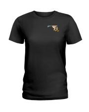 Maryland USA Flag beach chair crab PT Ladies T-Shirt thumbnail