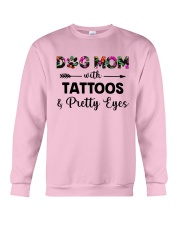 dog mom tattoos ha Crewneck Sweatshirt thumbnail