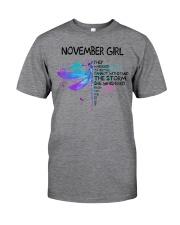 Dragonfly - November girl Classic T-Shirt thumbnail