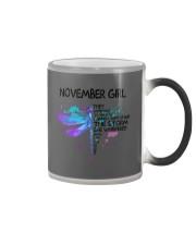 Dragonfly - November girl Color Changing Mug thumbnail