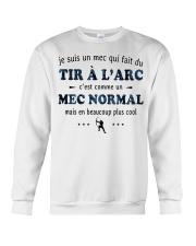 Un Mec Normal - Tir À L'arc Crewneck Sweatshirt thumbnail