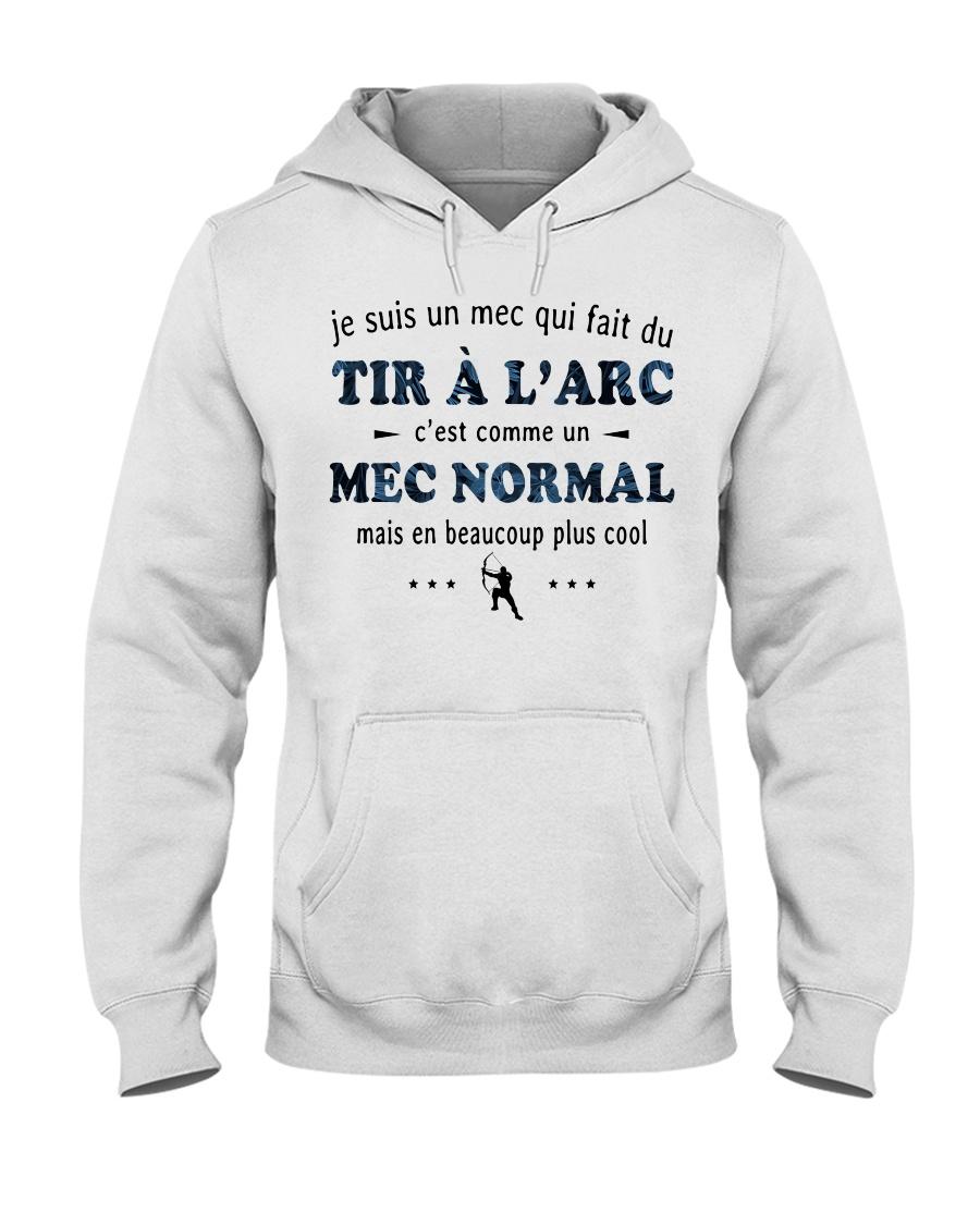 Un Mec Normal - Tir À L'arc Hooded Sweatshirt