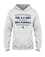 Un Mec Normal - Tir À L'arc Hooded Sweatshirt front
