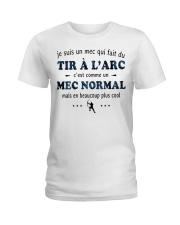 Un Mec Normal - Tir À L'arc Ladies T-Shirt thumbnail