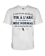 Un Mec Normal - Tir À L'arc V-Neck T-Shirt thumbnail