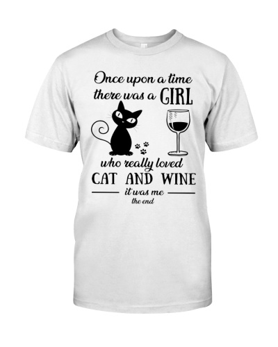 once upon time - Cat And Wine