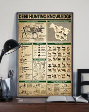 Deer Hunting Knowledge 0038 11x17 Poster lifestyle-poster-2