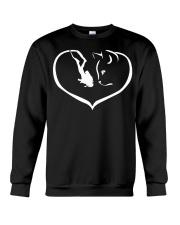 cats-scuba divng make me happy PT Crewneck Sweatshirt thumbnail