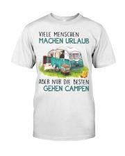 Viele Menschen Machen Urlaub Classic T-Shirt front