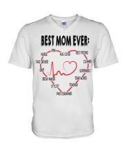 BEST MOM EVER V-Neck T-Shirt thumbnail