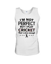 Cricket perfect Unisex Tank thumbnail