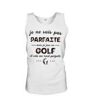 Golf - Et Cela Me Rend Parfaite Unisex Tank thumbnail