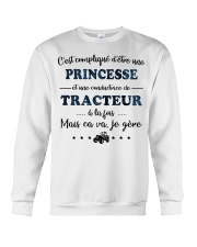 Princesse Mais Ca Va - Tracteur Crewneck Sweatshirt thumbnail