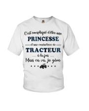 Princesse Mais Ca Va - Tracteur Youth T-Shirt thumbnail