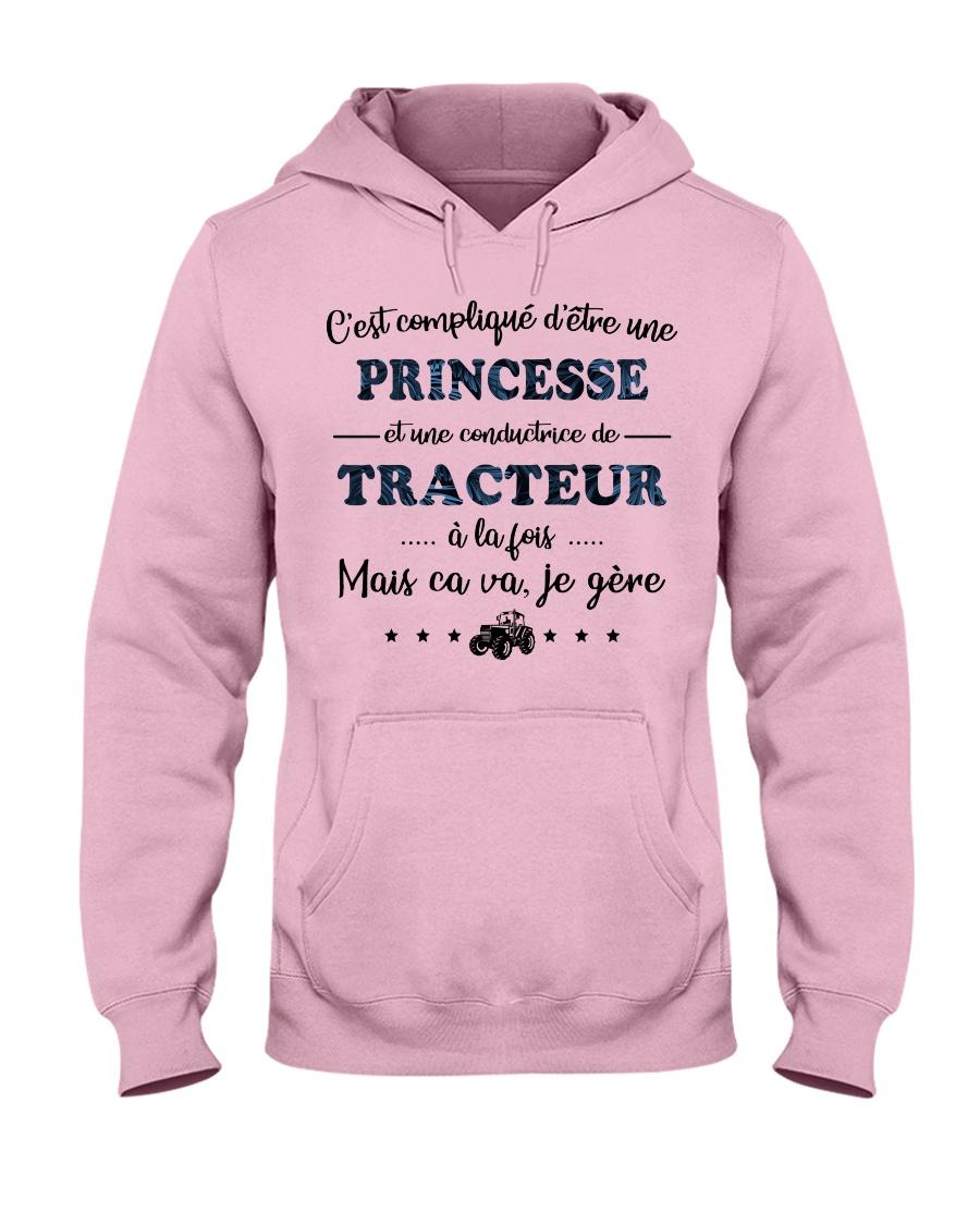 Princesse Mais Ca Va - Tracteur Hooded Sweatshirt