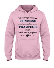 Princesse Mais Ca Va - Tracteur Hooded Sweatshirt front