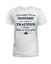 Princesse Mais Ca Va - Tracteur Ladies T-Shirt thumbnail