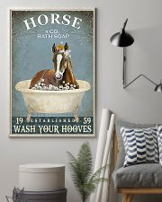 Wash your hooves vertical poster 11x17 Poster lifestyle-poster-1