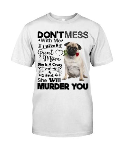 dog mom crazy pug 9997