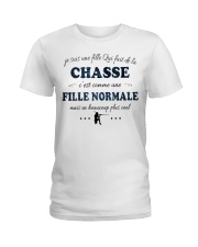 Fille Normale - Chasse Ladies T-Shirt thumbnail
