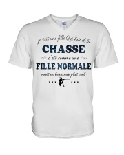 Fille Normale - Chasse V-Neck T-Shirt thumbnail