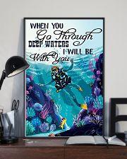When You Go Through 9992 0012 11x17 Poster lifestyle-poster-2