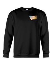 Montana USA Flag Crewneck Sweatshirt thumbnail