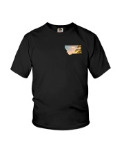 Montana USA Flag Youth T-Shirt thumbnail