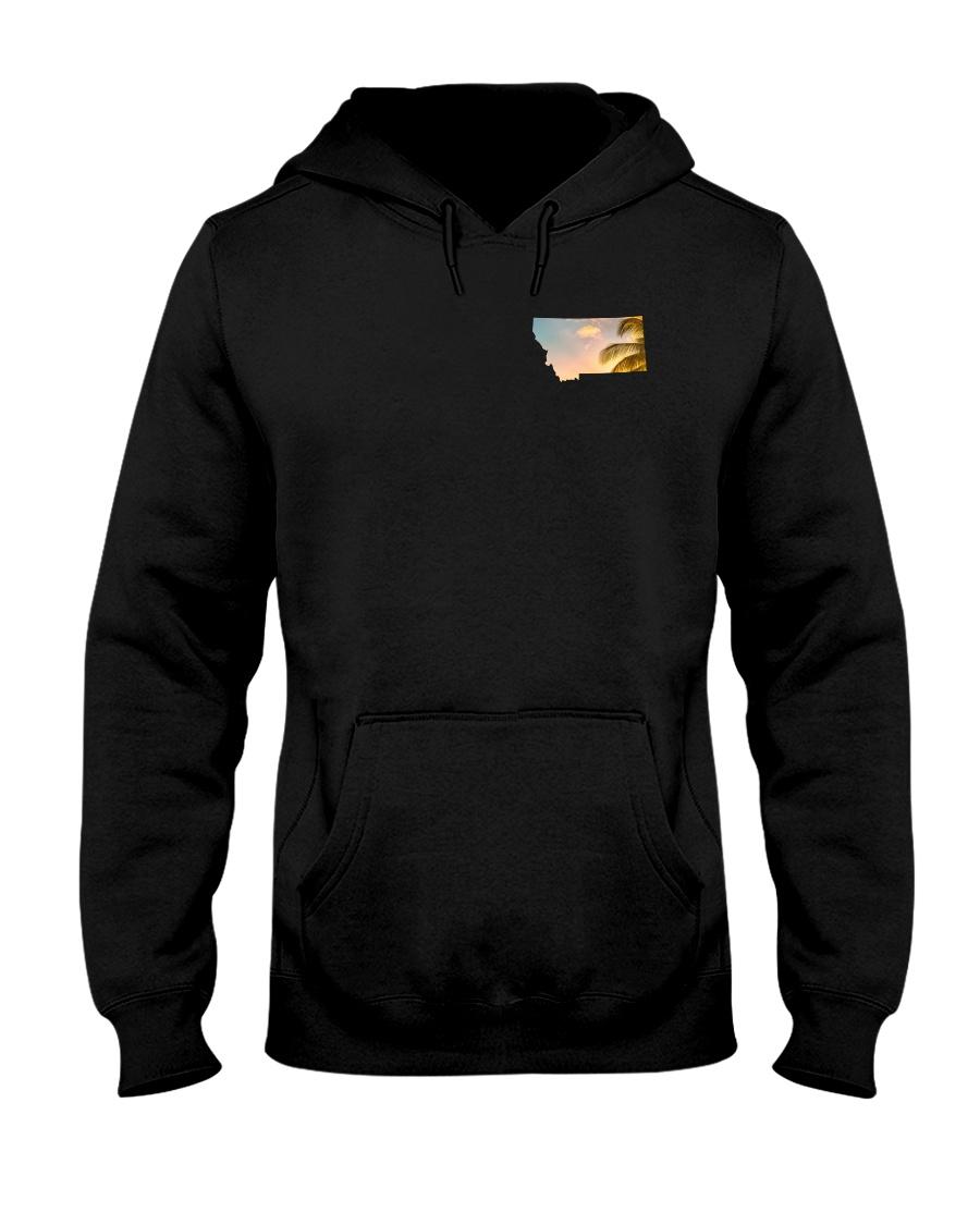 Montana USA Flag Hooded Sweatshirt