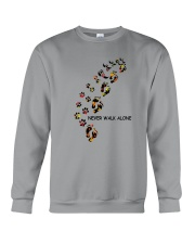 Dog - never walk alone PT Crewneck Sweatshirt thumbnail