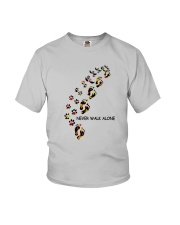 Dog - never walk alone PT Youth T-Shirt thumbnail