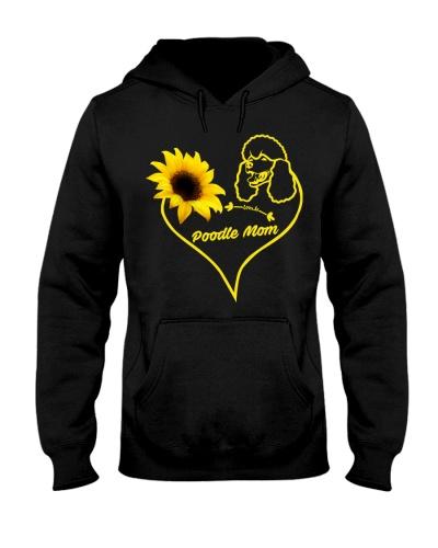 Poodles  mom sunflower 9997 0005