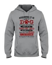 dog - assuming it is just a dog Hooded Sweatshirt thumbnail