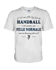 Fille Normale - Handball V-Neck T-Shirt thumbnail