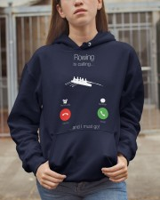 Rowing calling 0000 Hooded Sweatshirt apparel-hooded-sweatshirt-lifestyle-07