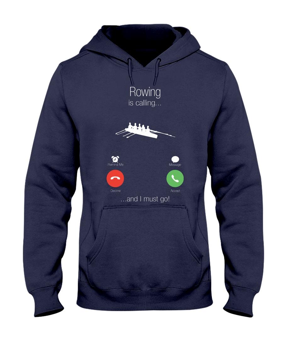 Rowing calling 0000 Hooded Sweatshirt