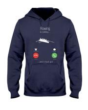 Rowing calling 0000 Hooded Sweatshirt front