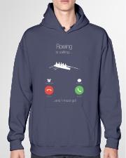 Rowing calling 0000 Hooded Sweatshirt garment-hooded-sweatshirt-front-04